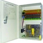 Mervesan - Mervesan/12vdc 10a 16 Port Cctv Kamera Sistem Güç Kaynağı /Ms-Cctv-16p