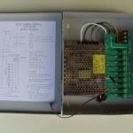 Mervesan - Mervesan/12vdc 5a 9 Port Cctv Kamera Sistem Güç Kaynağı /Ms-Cctv-9p