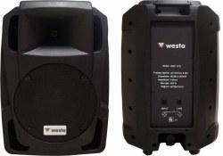 Westa - 15inc 800 Watt Plastik Kabin Hoparlör