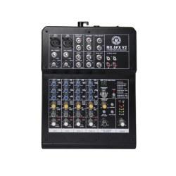 Topp Pro - 2 Mono 2 Stereo 6 Kanal Deck Mikser