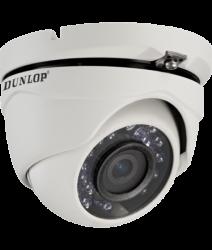 Dunlop - 2.0MP 2.8mm 20Mt. IR HD-TVI Dome Kamera