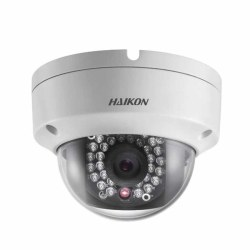 Haikon - 2.0MP 2.8mm Lens Ses+SD Kart 30Mt. IR Mes. Mini IR Dome Kamera