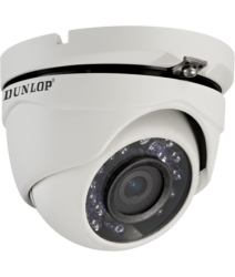 Dunlop - 2.0MP 3.6mm 20Mt. IR HD-TVI Dome Kamera