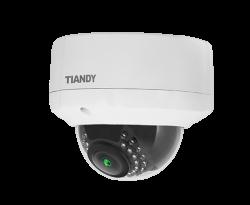 Tiandy - 2.0MP 4.0mm Lens 24 Led IR Dome IP Kamera