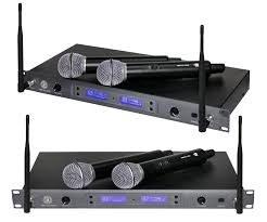 Topp Pro - 2'li Telsiz Mikrofon Seti (Receiver ve 2 adet El Mikrofonu)