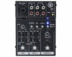 Topp Pro - 3 Kanal USB/Bluetooth Deck Mixer