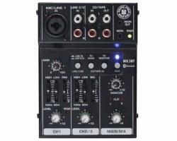 Topp Pro - 3 Kanal USB/Bluetooth Deck Mixer