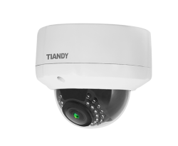Tiandy - 3.0MP Sony Exmor 2.8~12mm Lens 32 Led IR Dome İP Kamera