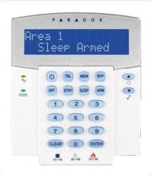 Paradox - 32 Zon Kablolu Lcd Keypad