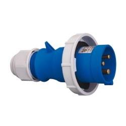 Mete Enerji - Mete Enerji 3x16a Ip67 Düz Fiş (Vidalı Bağ)/ T210389v