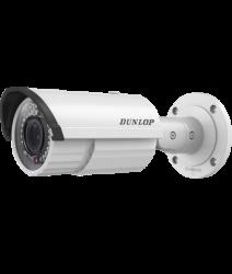 Dunlop - 4.0MP 2.8~12mm Motorize Lens 30Mt. IR IP Bullet Kamera