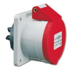 Mete Enerji - Mete Enerji 4x16a Ip44 Makine Prizi Düz (Vidalı Bağ)/ T13693v