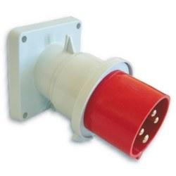 Mete Enerji - Mete Enerji 4x32a Ip44 Makıne Fısı -Eğik-/ T27407