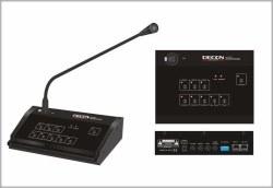 Decon - 6 Bölge Condenser Anons Mikrofonu Konsolu