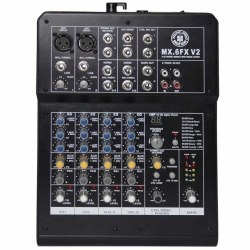 Topp Pro - 6 Kanal Efektli Deck Mixer