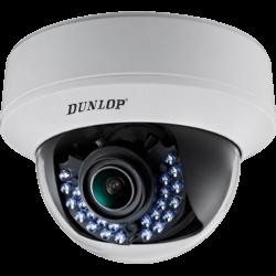 Dunlop - 720P 2.8~12mm V.Focal 30Mt. IR HD-TVI Dome Kamera