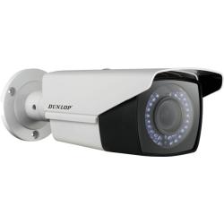 Dunlop - 720P 2.8~12mm V.Focal 40Mt. IR HD-TVI Bullet Kamera