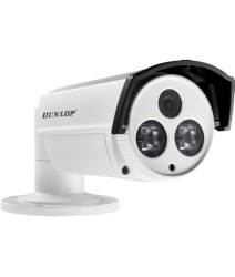 Dunlop - 720P 3.6mm 80Mt. IR HD-TVI Bullet Kamera