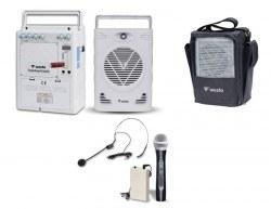 Westa - 75 Watt El veya Headset Mikrofonlu Taşınabilir Akülü Hoparlör