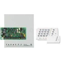 Paradox - 8 Zone, 1 Pgm, 2 Kısım Kontrol Paneli + K636 Led keypad