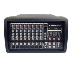 Westa - 8CH 300 Watt Küp Power Mikser