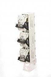 Apator - Apator / 3x630A Dikey Sigortalı Yük Ayırıcı NH Boy 3 (Ayrı Açmalı) / ARS 3 - 1 - M