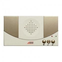 Audio - Audio/ 8+nD Konsept FNK 310 Ses Ayarlı Kapıcılı Diafon / Tek Sıra Butonlu Zil Panelli Sesli Diafon Paketi