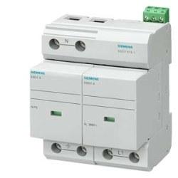 Siemens - Sıemens-B Sınıfı; 2 Kutuplu Tt Ve Tn-S Sistemleri İçin; Yıldırıma Karşı Koruyucu Parafudr-5sd7412-1