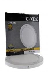 Cata - Cata / 18w Sensörlü Sıva Üstü LED Panel (Beyaz) / CT-9247B
