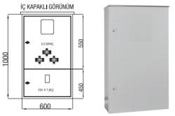Çetinkaya - Çetinkaya / X5 Elektronik Sayaç + Akım Trafosu + 250A Kompakt Şalter Kombi Sayaç Panosu / ÇP 115 BH
