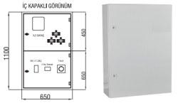Çetinkaya - Çetinkaya / X5 Elektronik Sayaç + Akım Trafosu + 400A Kompakt Şalter Kombi Sayaç Panosu / ÇP 115 C