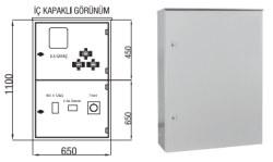 Çetinkaya - Çetinkaya / X5 Elektronik Sayaç + Akım Trafosu + 400A Kompakt Şalter Kombi Sayaç Panosu / ÇP 115 CH