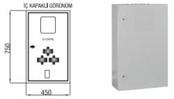 Çetinkaya - Çetinkaya / X5 Elektronik Sayaç + Akım Trafosu+ Kompakt Yeri Kombi Sayaç Panosu / ÇP 115