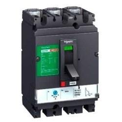 Schneider Electric - Schneider -Lv516343 Ayarlı Termal Manyetik Kompakt Şalter 4 Kutuplu Cvs160f Tm160d/Lv516343