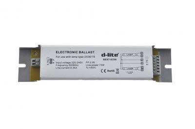 D-Lite / 2x36 T8 Elektronik Balast / dlite2x36T8
