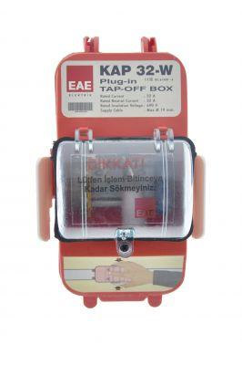 EAE / KAP 32 Boş Çıkış Kutusu 32A / 3025109