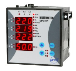 Entes - ENTES-EPM-07S-96 Şebeke Analizörleri