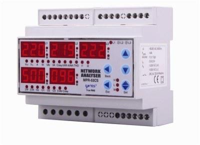 ENTES-MPR-53-DIN Şebeke Analizörleri