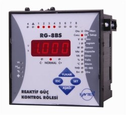 Entes - ENTES-RG-8BS 96 Reaktif Güç Kontrol Rölesi