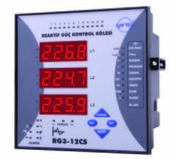 Entes - ENTES-RG3-12C Reaktif Güç Kontrol Rölesi