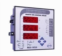 Entes - ENTES-RG3-15C Reaktif Güç Kontrol Rölesi
