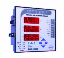 Entes - ENTES-RG3-15CL Reaktif Güç Kontrol Rölesi