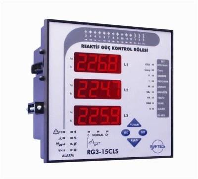 ENTES-RG3-15CS Reaktif Güç Kontrol Rölesi