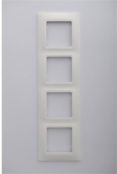 Legrand - Legrand / Salbei Beyaz 4'lü Çerçeve / 767334