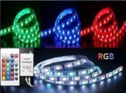 Mervesan - MERVESAN/ 14,4 W RGB LED Şerit ( İç Mekan) (5 Metre) / MRW-5050-20-RGB
