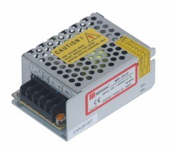 Mervesan - Mervesan / 24 Watt 12 Vdc Ac/Dc Metal Kasalı Adaptör / Ms-24-12