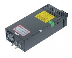 Mervesan - Mervesan/750 Watt 24 Vdc Ac/Dc Metal Kasalı Adaptör-/Ms-750-24