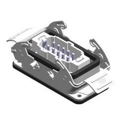 Mete Enerji - Mete Enerji 10x16a Çoklu Makine Fişi Metal Mandallı/ 403021s