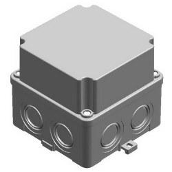 Mete Enerji - Mete Enerji 110x110x100 Termoplastik Buat Derin Kapaklı Gri/ 40201205