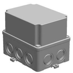 Mete Enerji - Mete Enerji 110x150x120 Termoplastik Buat Derin Kapaklı Gri/ 40201605